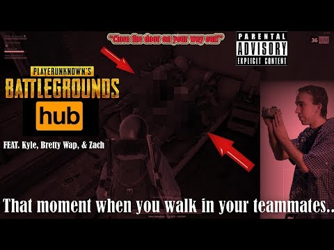 Xxx Mp4 PUBG WALKING In On My TEAMMATES XXX RATED Feat Kyle Bretty Wap Zach 3gp Sex