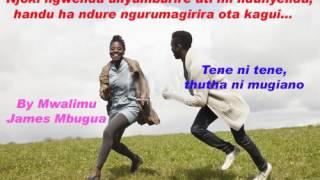 njoki nyumburira- by Mwalimu James Mbugua