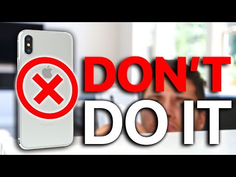 10 Reasons NOT To Buy iPhone X!