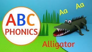ABC Phonics | Learn to Read with Paper Roll Craft Animals