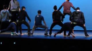 Foothill-De Anza Hip Pop Dance college International Festival 2010