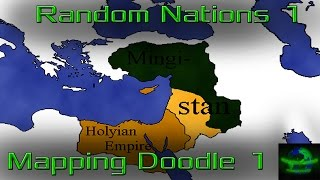 Mapping Doodle 1: Random Nations 1