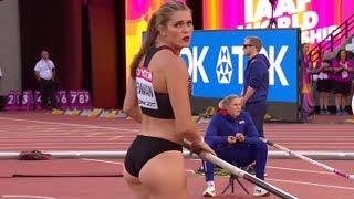 Alysha Newman - Canadian Pole Vaulter