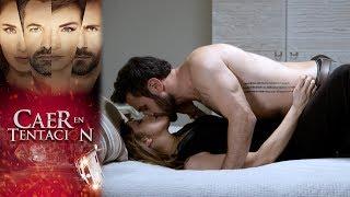 Raquel y Santiago luchan por su amor | Caer en tentación -Televisa
