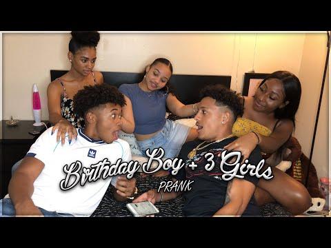 Xxx Mp4 3 GIRLS 1 BIRTHDAY BOY PRANK 3gp Sex