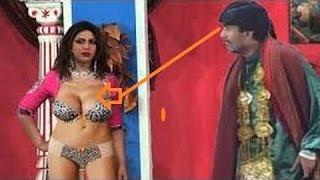{{ Sakhawat Naz with Sexy girl kuri }} iftikhar thakur  stage drama pakistani funny comedy show