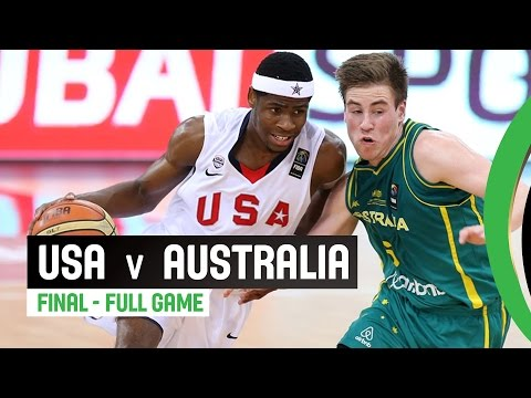 watch USA v Australia - Final Full Game - 2014 FIBA U17 World Championship