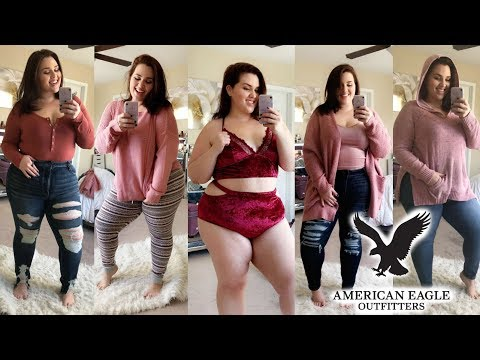 Xxx Mp4 HUGE FALL American Eagle Try On Haul Plus Size Fashion 3gp Sex