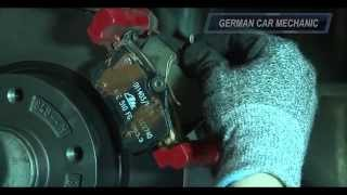 ✰ RENAULT MEGANE 2 & 3 ✰  How to rear brake replacement. Rotor and Pads change