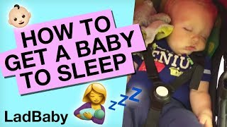 Getting a baby to sleep...in public