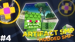 Minecraft Modded Artifact SMP : THE NAGA CHALLENGE!