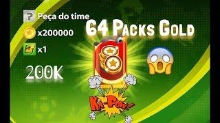 Soccer Stars-64 Packs de Ouro!