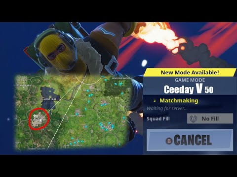 Ceeday V 50 Landing with the Enemy Team RAGE