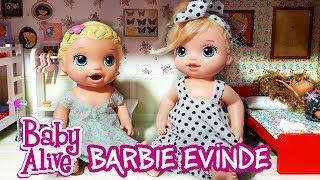 Barbie Evine Baby Alive Kardeşler Misafirliğe Gidiyor 💓 | Oyuncak Butiğim