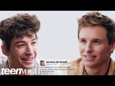 Ezra Miller vs. Eddie Redmayne in A Fantastic Compliment Battle | Teen Vogue