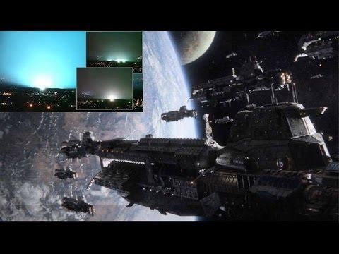 Alien Attack Leaves 500 Dead In Texas As UFO Fleet Nears Earth