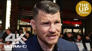 Michael Bisping interview on acting, UFC future, Ronda Rousey comeback at XXX 3 premiere in London
