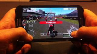 Moto GP PSP on Android [PPSSPP 0.9.7.2 Emulator] - Samsung Galaxy Note II