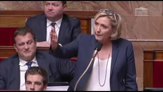 Intervention de Marine Le Pen sur l'acquisition automatique de la nationalité