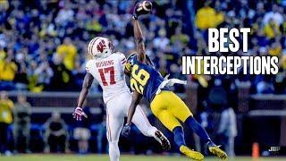 Best Interceptions of the 2016-17 College Football Season ᴴᴰ