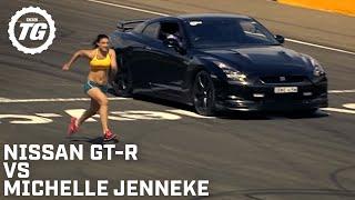 Nissan GTR Vs A Woman | Top Gear Festival Sydney