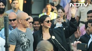 'xXx 3': Deepika And Vin Diesel Get Grand Welcome In India