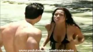 Emperatriz @DayanaGarroz  y Diego @CARLOSGHAYDON (4) Primer Beso