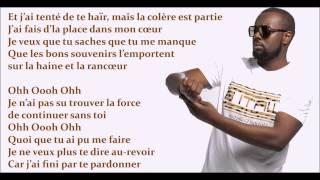 Maitre Gims - Je te pardonne Lyrics (Paroles)