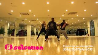 Dangerous love Fuse ODG & Sean Paul ft Alejandro Angulo's Salsation Choreography