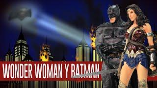 Batman y Wonder Woman - Iron Studios | Out of da Box