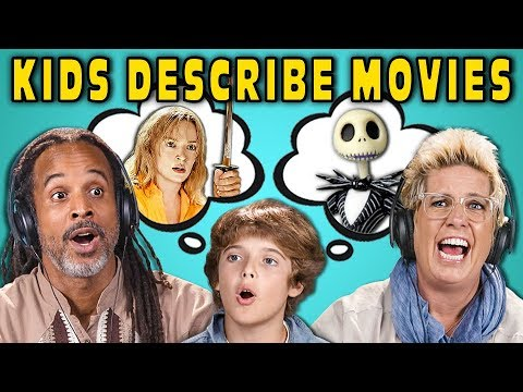 Can Parents Guess Movies Described By Kids 5 React