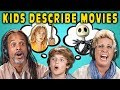 Can Parents Guess Movies Described By Kids? #5 (React)