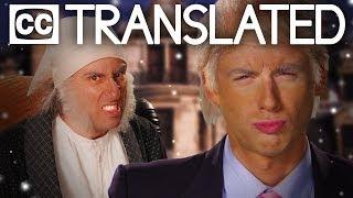 [TRANSLATED] Donald Trump vs Ebenezer Scrooge. Epic Rap Battles of History. [CC]
