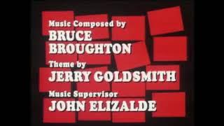 "BJ:  ""A Desperate Pursuit"" (score suite; Bruce Broughton)"