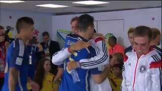 Germany - Argentina National Anthems. World Cup 2014 Final