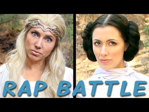 GALADRIEL vs LEIA: Princess Rap Battle (Whitney Avalon ft. Sara Erikson) *explicit*