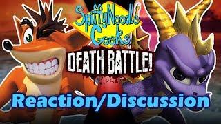 SNG Reaction/Discussion: Crash VS Spyro DEATH BATTLE!