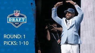 Picks 1-10 Recap | 2016 NFL Draft