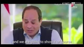 Egypt's dictator As-Sisi reacts to a citizen opinion on him