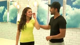 Drashti Dhami and Salman Y Khan Jhalak first week rehersals