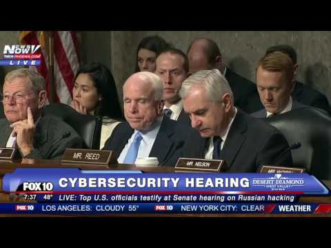 FULL VIDEO Senate Hearing on Russian Hacking Intelligence Officials TESTIFY incl. DNI Clapper