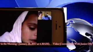 Shahroz Chowdhury Shaan Video Conversation with Baba (শান ভিডিও কনভারসেশন, বাবা সাথে)