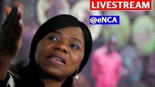 LIVESTREAM: Former Public Protector clears the air on damning leaked report