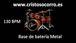 Base de batería Heavy Metal 130bpm