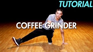 How to do the Coffee Grinder / Helicopter (Hip Hop Dance Moves Tutorial) | Mihran Kirakosian
