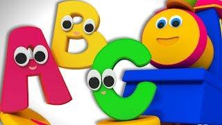 Alphabet Adventure   ABC Song For Kids   Alphabet Nursery Rhyme   Learning Street with Bob the Train