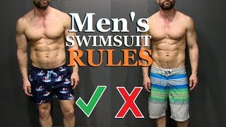 6 Swimsuit Rules ALL Men Should Follow!