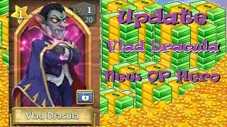 Castle Clash Update 1.2.58 Vlad Dracula in Action