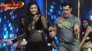 Salman Khan & Daisy Shah promote Jai Ho on Dance India Dance Season 4