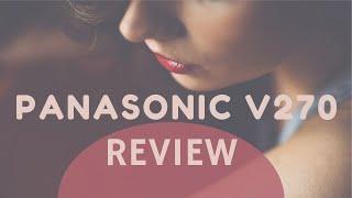 Panasonic HC-V270 camcorder review & unboxing (HC-V180 no WI-FI/NFC)